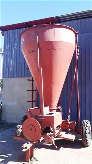Drotsky 1 ton kantelskroef menger
