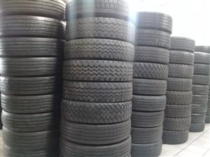 ALL SIZES SECOND HAND TRUCK TYRES,GOOD SECOND HAND,GUARANTEED