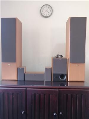 JVC 6-speaker surround sound system for sale. Speakers only. for sale  Pretoria - Pretoria East