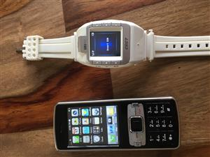 Watch phone and mini projector phone