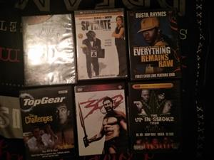 Various old dvds for sale