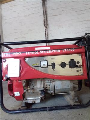 generator pro series lt6500 5.5kva for sale