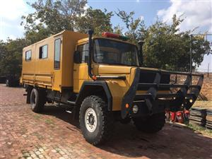 Samil 50 4x4 with crew carrier