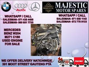 Mercedes benz W204 271 c180 engine for sale