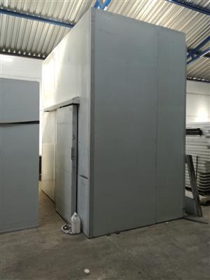 Coldroom B-Grade Polyurethane : 60mm 3.150m x 1.950m x 3.4m