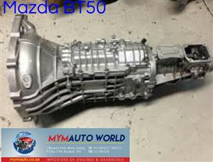 Imported used MAZDA BT50 MANUAL gearbox Complete