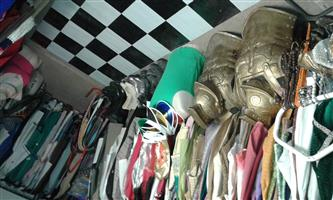 Fancy Dress Costumes, Decor, Props and all shop fittings