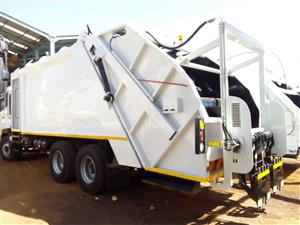unparalleled brand new waste removal truck supplies...You can count on us.