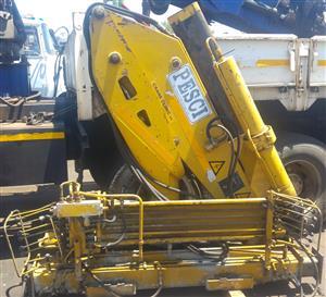 Used Pesci P777 Truck Crane [12tm] | CRANE CLINIC