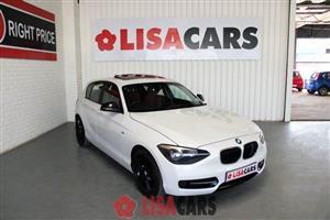 2012 BMW 1 Series 116i 5 door Sport auto