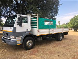 Tata 8 ton dropside with canopy 2014