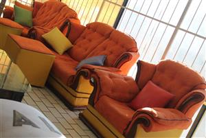 3 piece lounge suite S030116A #Rosettenvillepawnshop
