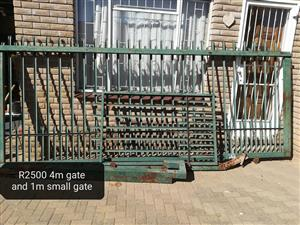 Large and small front gates