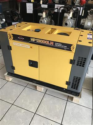 Magnum Diesel Single Phase Generator 12kva price incl. Vat