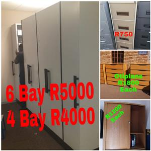Filling cabinets - bulk filler 4 drawer etc
