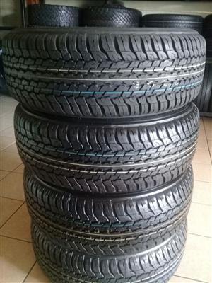 Dunlop Grandtrek A/T new tyres 265 60 18