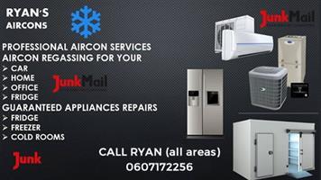 Ryan's Aircon regas