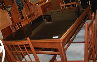 Dining room suite S029903A #Rosettenvillepawnshop