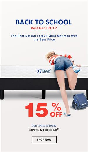 Sunrising Bedding® Best Comfortable and Affordable Mattress Choices on Sunrising Bedding Mattress