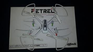 Helicute petrel drone