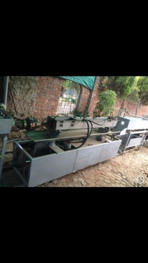 Complete extruder pipe line with cooling tower