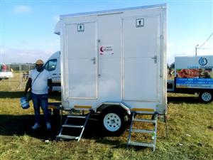 Mobile VIP toilets for Rental