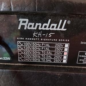 Randall Guitar Amplifier