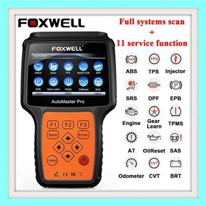 FOXWELL NT644 PRO OBD2 Automotive Scanner Full System ABS Airbag EPB DPF Oil Service Odometer Reset OBD 2 Diagnostic Tool with Full VERSION