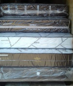 Various Queen Mattress and Base Sets