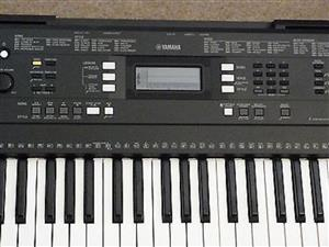 Flat Yamaha PSR-E343 Portable Keyboard
