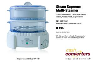 Steam Supreme Multi-Steamer