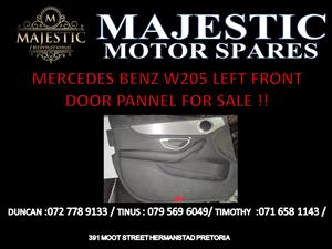 MERCEDES BENZ W205 DOOR PANEL