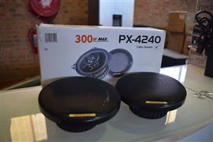 300W 2 way speaker set