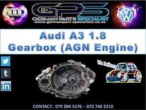 AUDI A3 1.8 1999 GEARBOX (AGN ENGINE) FOR SALE
