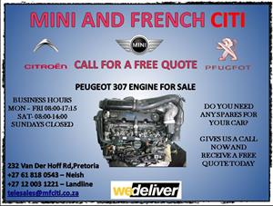 307 engine for sale