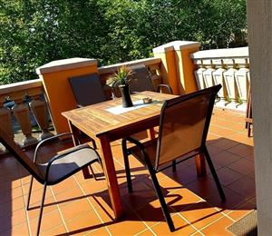 4x Patio chairs