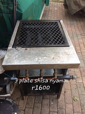 3 Plate shisa nyama for sale