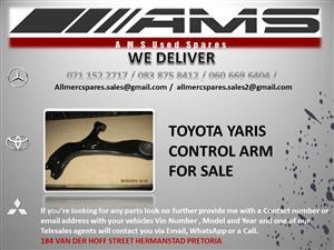 TOYOTA YARIS CONTROL ARM