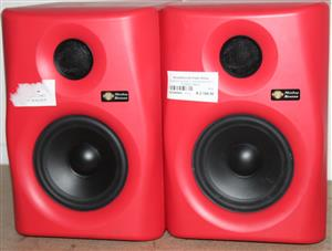 S035554A 5 Gibbon monkey speakers with power cables #Rosettenvillepawnshop