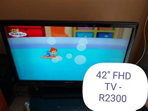 42'' FHD TV.