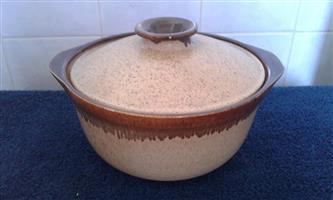 Pottery casserole for sale