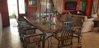 10 Seater dinning room set