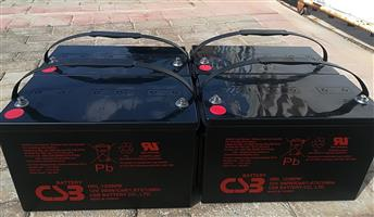 Csb Deep Cycle Battery 120Ah For Sale