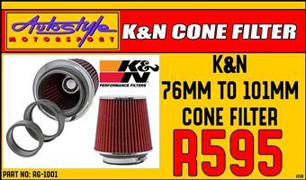 KandN RG-1001 Universal Air Filters