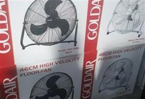 High Velocity Floor Fans - New