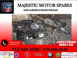 Audi A4 B8 lock set for sale