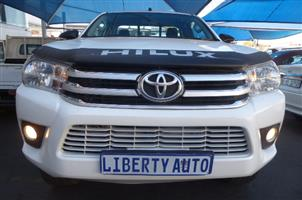 2016 Toyota Hilux single cab HILUX 2.8 GD 6 RB RAIDER P/U S/C