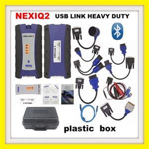 Truck tool NEXIQ-2 USB Link + Software Diesel Truck Interface and Software with All Installers with Bluetooth