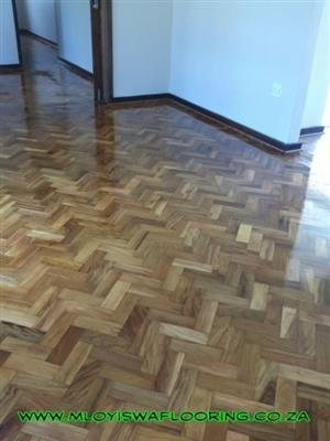 Kiaat Parquet Flooring