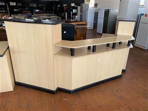 Réception counter